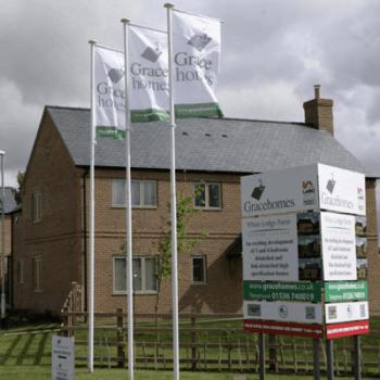 Housebuilders Flagpoles