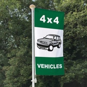 4x4 Vehicles Flag