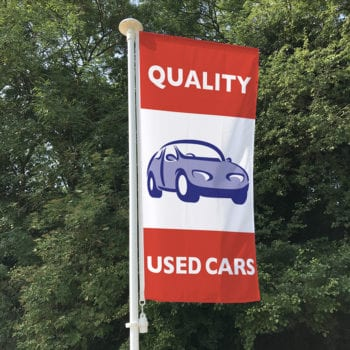 Quality Used Cars (Red) Flag
