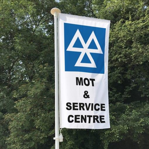 MOT & Service centre Flag