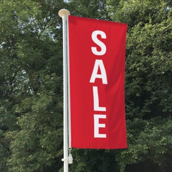Sale Portrait Flag