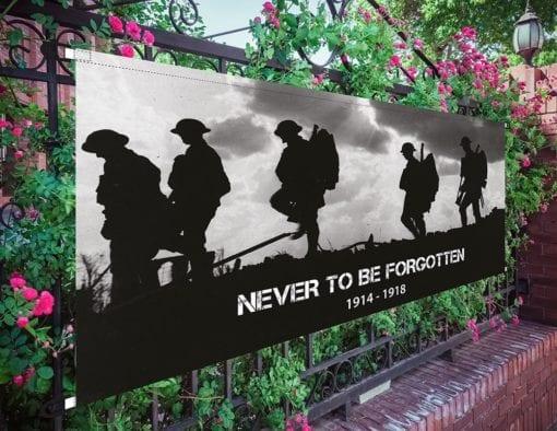 ww1 commemorative banner